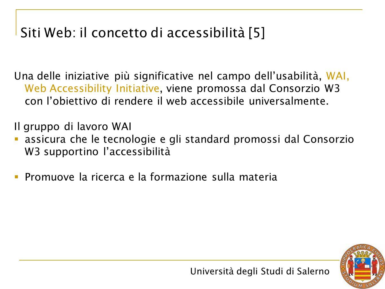 Siti Web: il concetto di accessibilità [5]